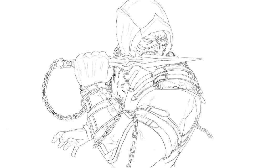 Scorpion Mortal Kombat 3