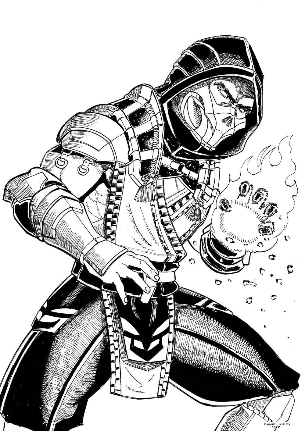 Scorpion Mortal Kombat 5