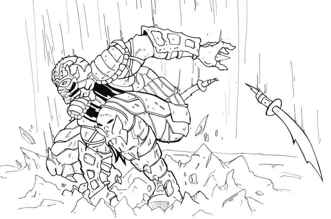 Scorpion Mortal Kombat 6