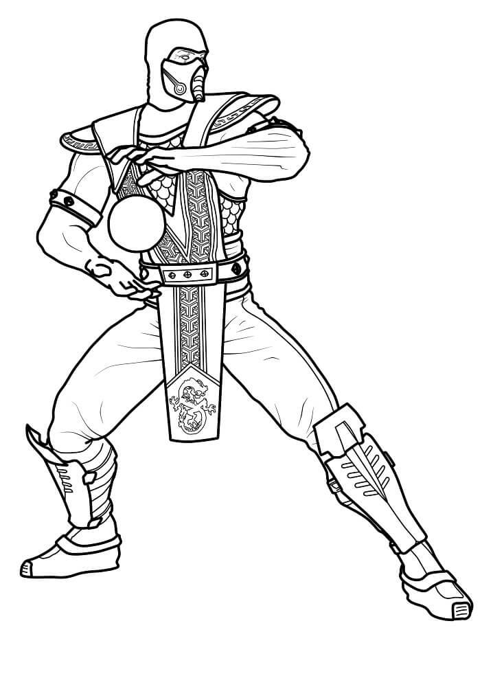 Scorpion Mortal Kombat 7