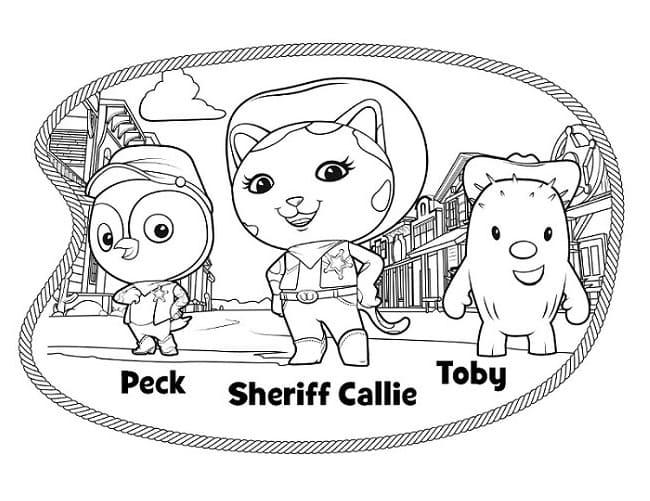 Sheriff Callie Characters