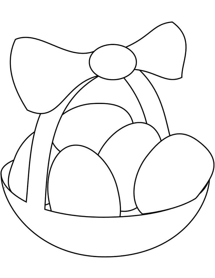 Simple Easter Basket 1