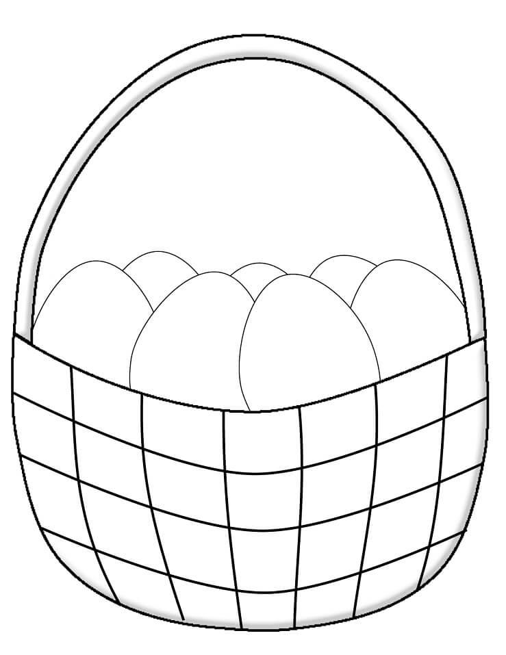 Simple Easter Basket