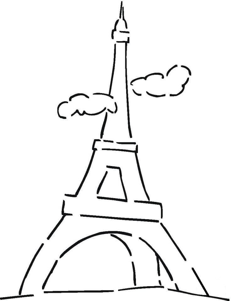 Simple Eiffel Tower 1
