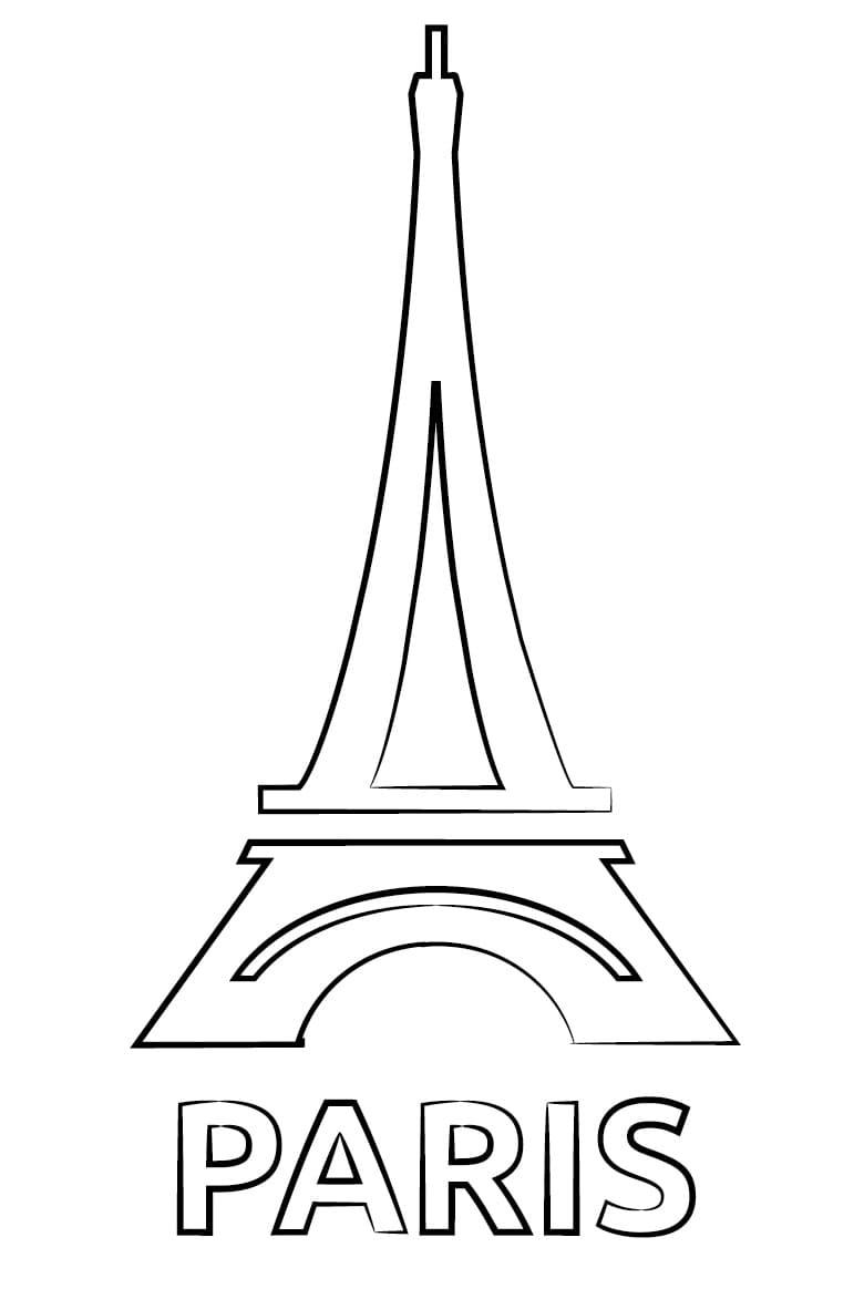 Simple Eiffel Tower 3