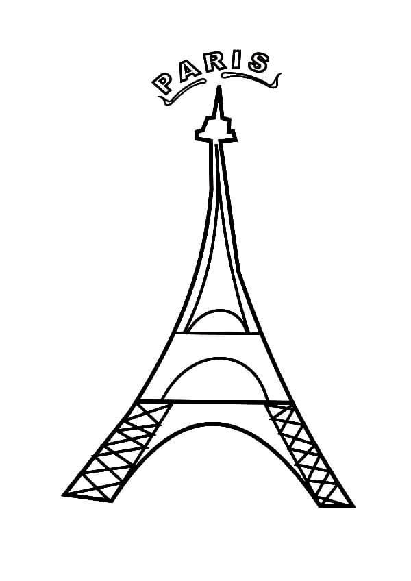 Simple Eiffel Tower 4