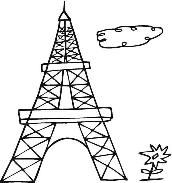 Simple Eiffel Tower