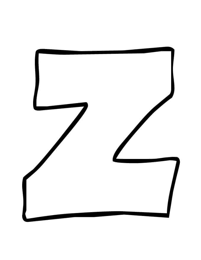 Simple Letter Z