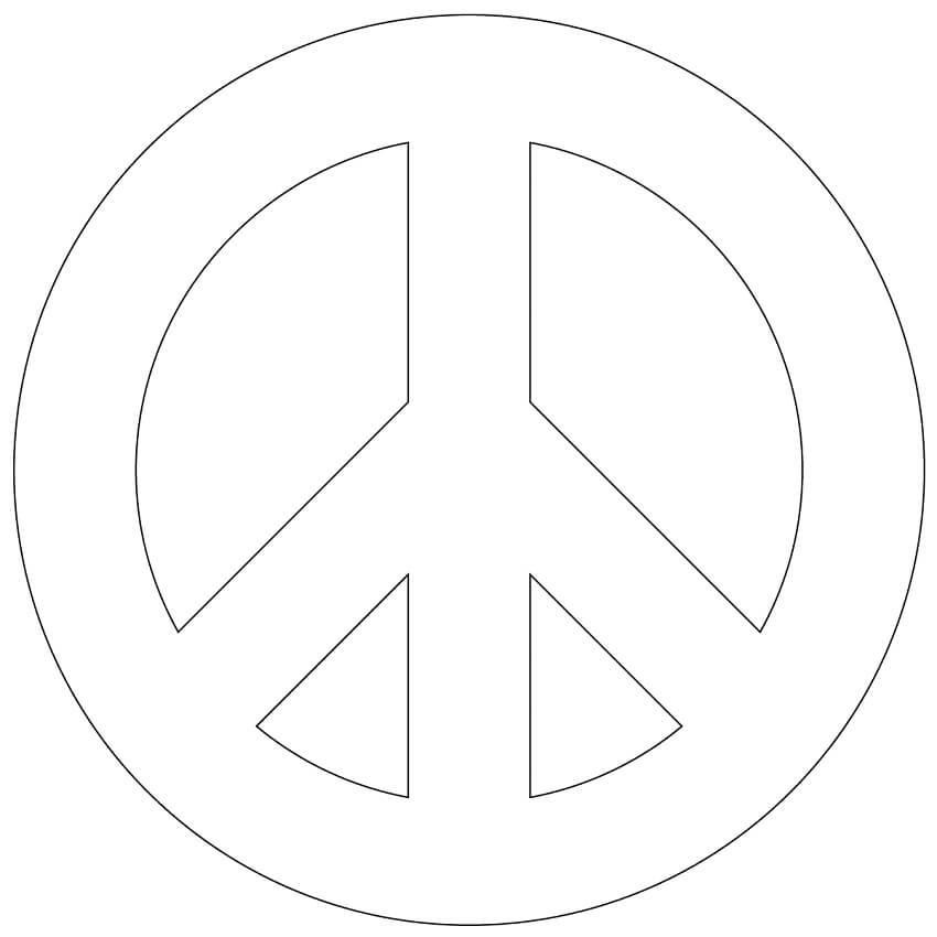 Simple Peace Sign