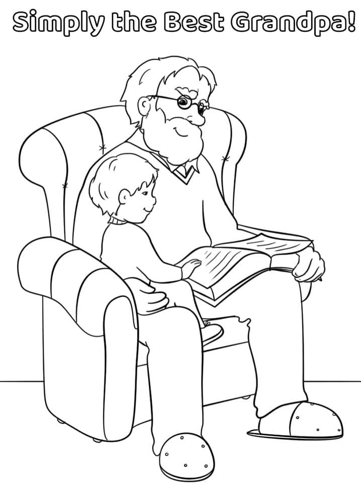 Simply the Best Grandpa