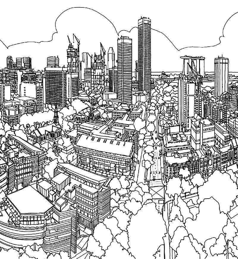 Singapore Cities