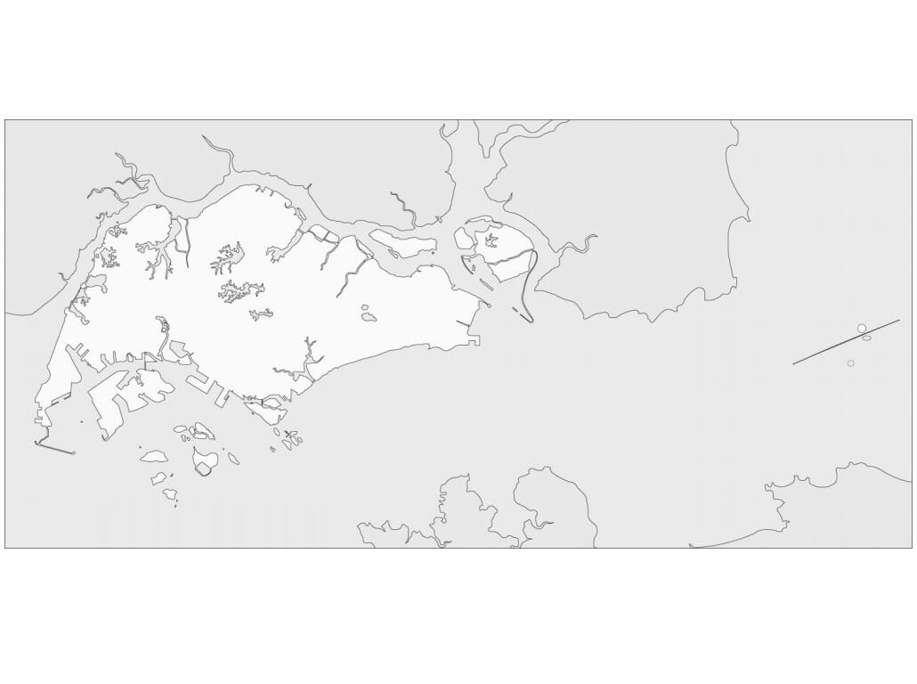 Singapore's Map
