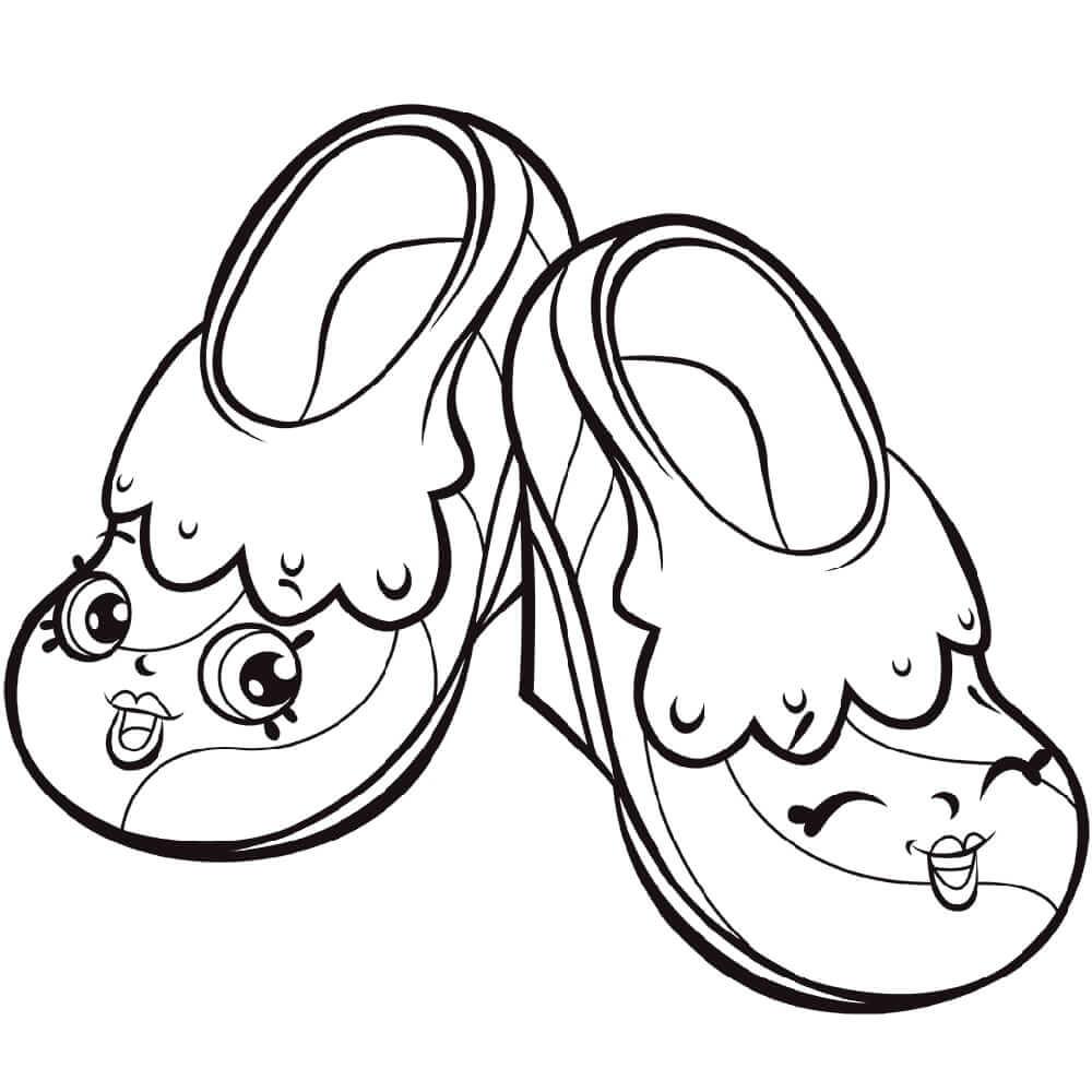 Skip and Flip Fairy Slippers Shopkin