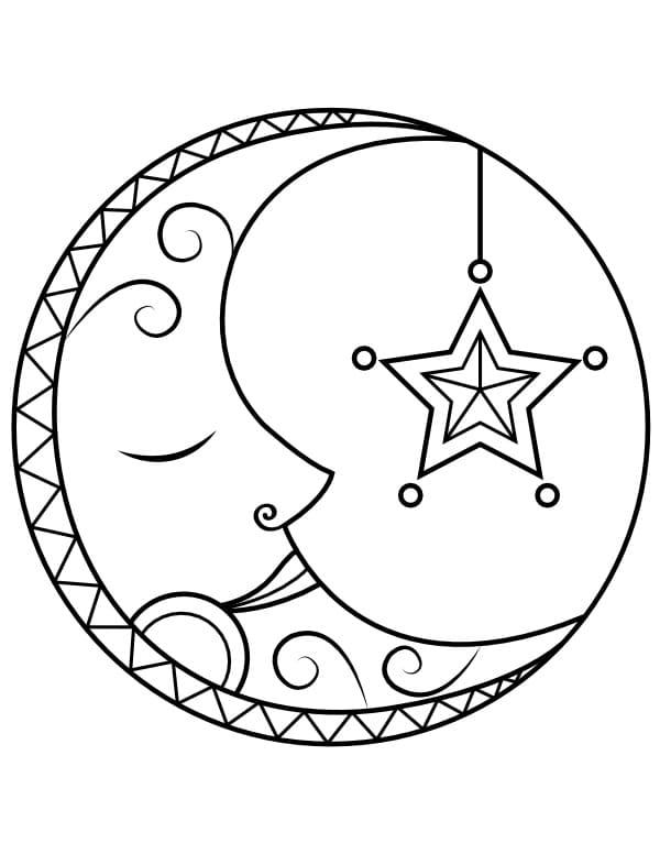 Sleeping Moon 1