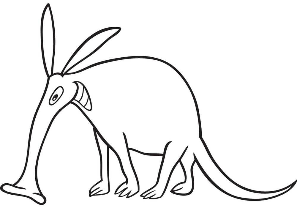 Smiling Aardvark