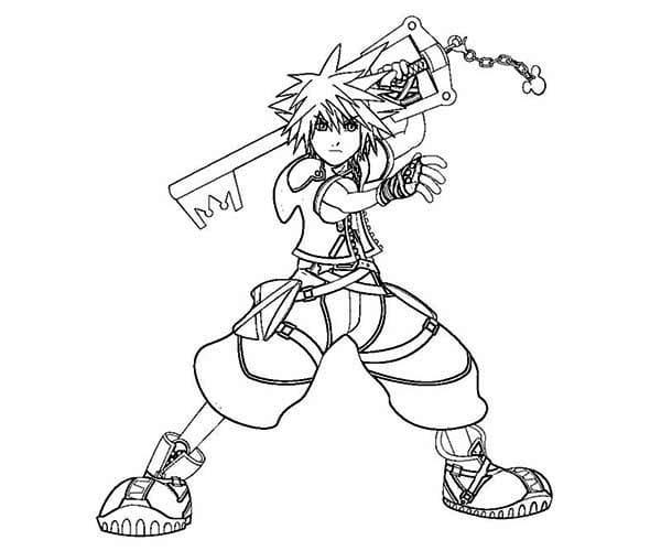 Sora and Key Blade