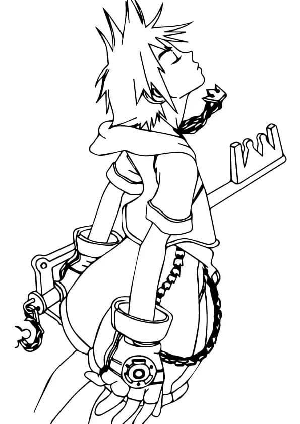 Sora with Key Blade