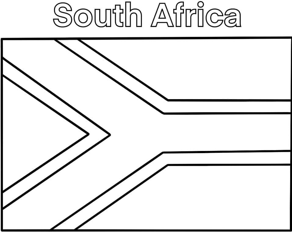 South Africa Flag 1