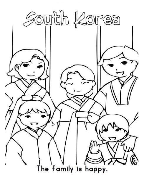 South Korea Family
