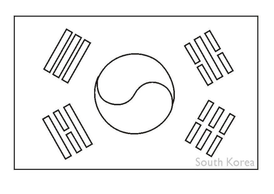 South Korea Flag 1