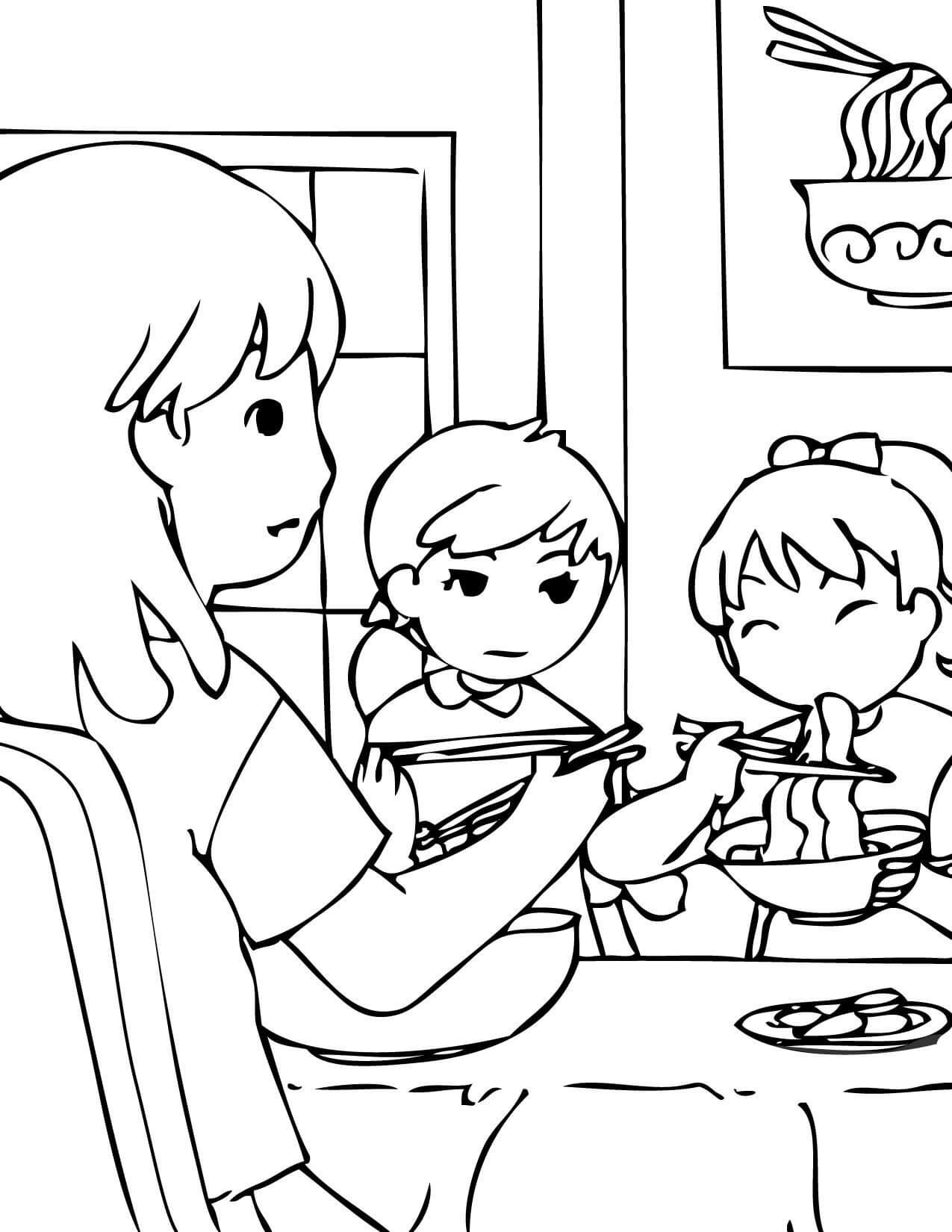 South Korean Family