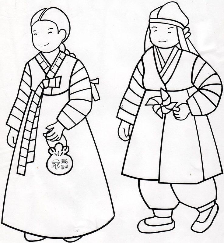 South Korean Traditional Hanbok