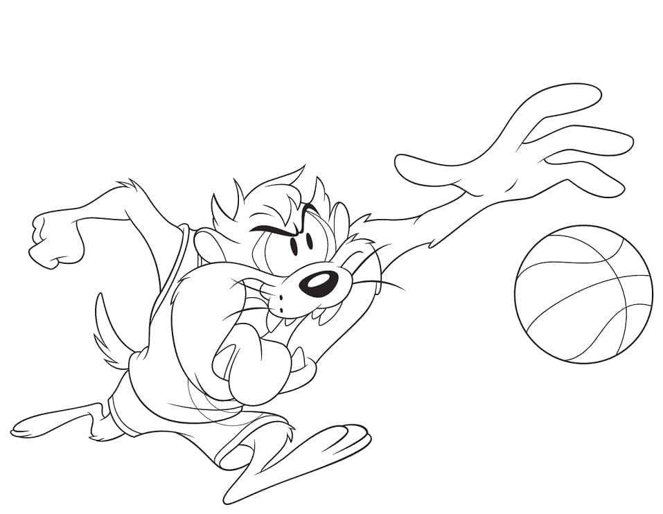 Space Jam Tasmanian Devil