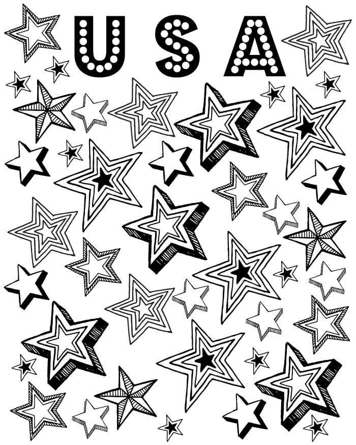 Stars Patriotic