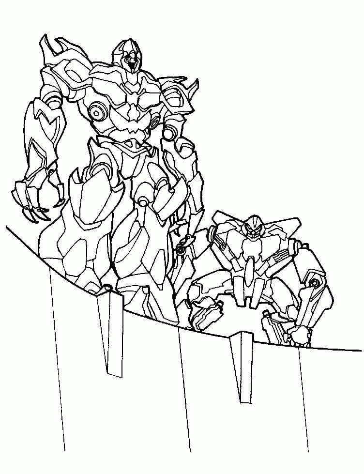 Starscream and Megatron
