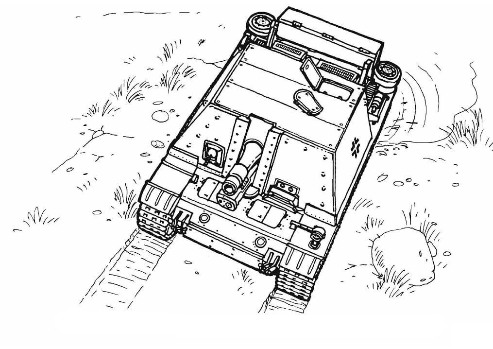 Sturmpanzer Tank
