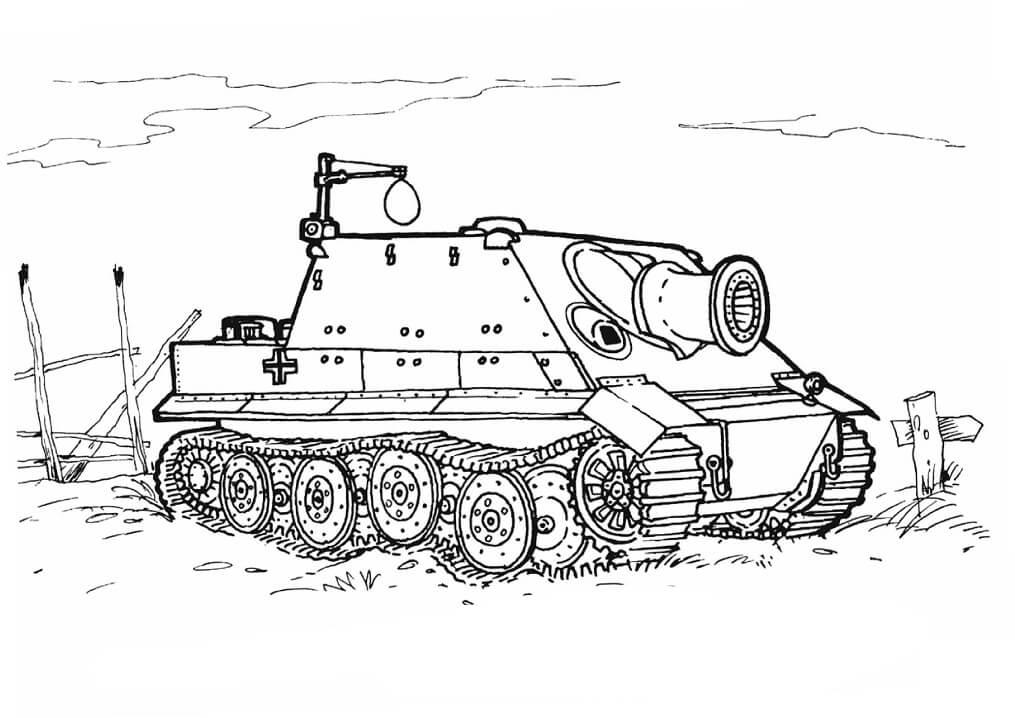Sturmtiger Tank