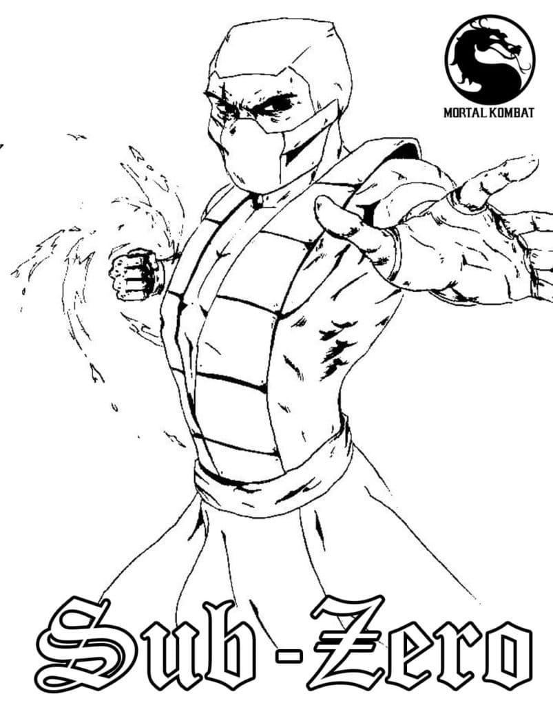 Sub-Zero Fighting