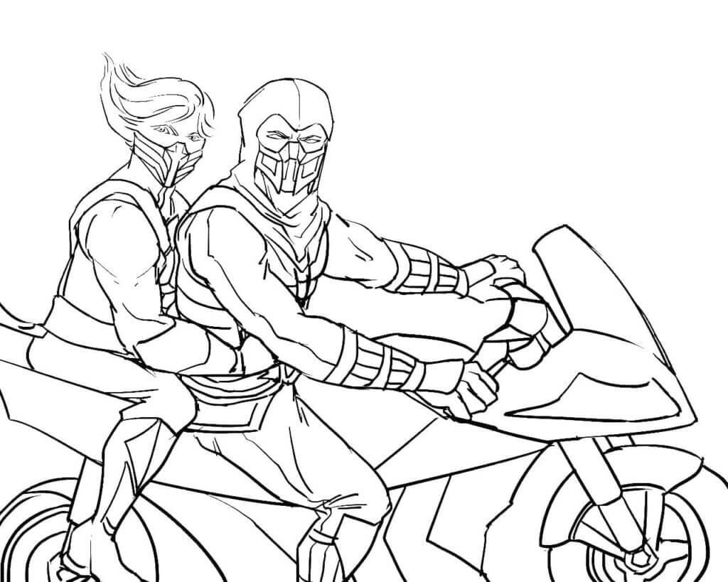 Sub-Zero Riding Motocycle