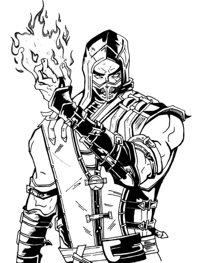 Sub-Zero from Mortal Kombat