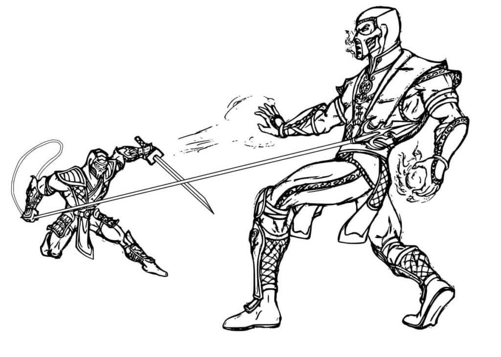 Sub-Zero vs Scorpion