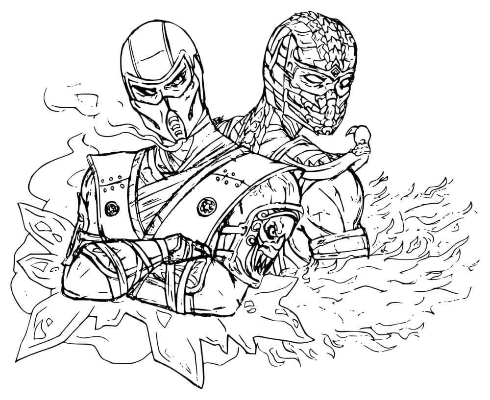 Sub-Zero with Scorpion