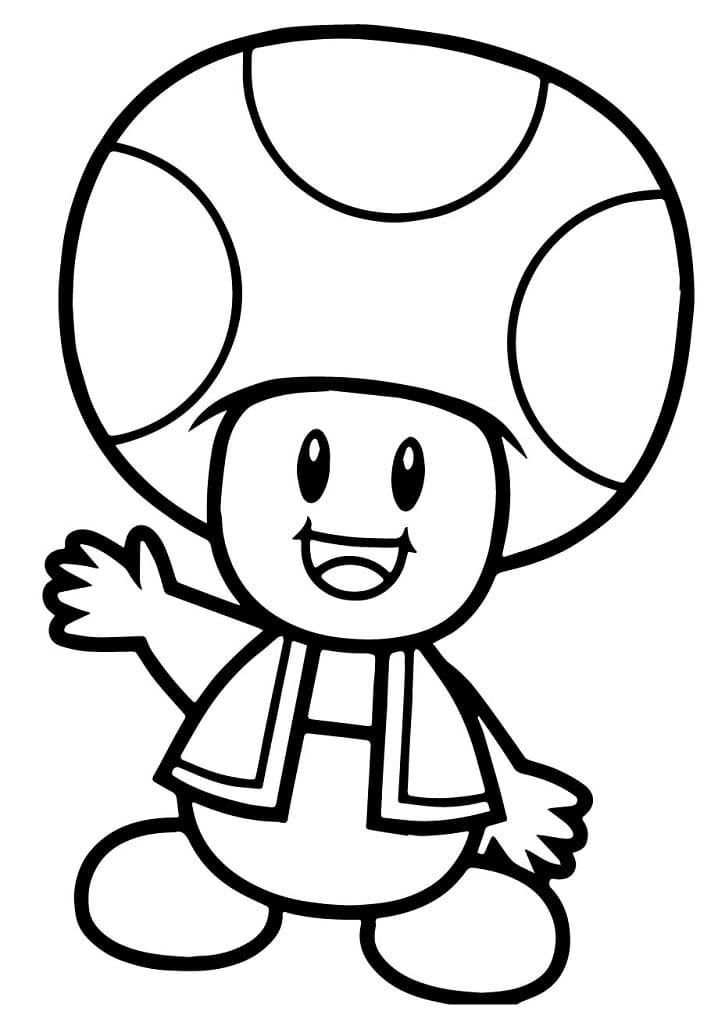 Super Mario Bros. Toad