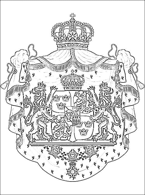 Sweden Coat of Arms