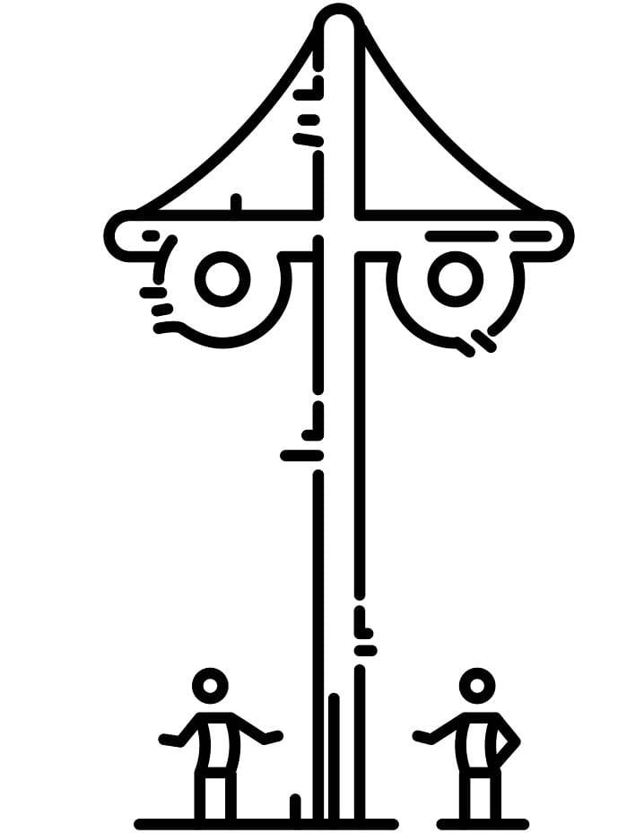 Swedish Maypole