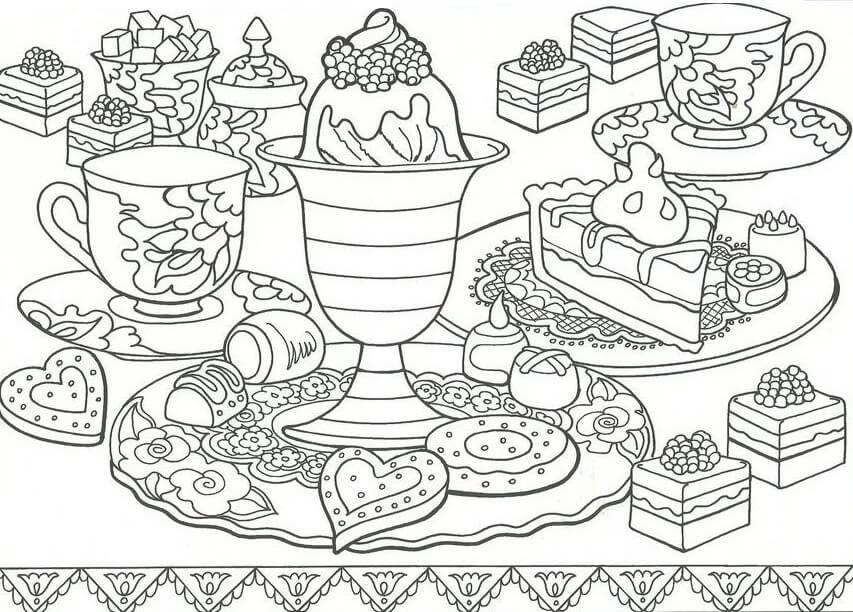 Table Dessert