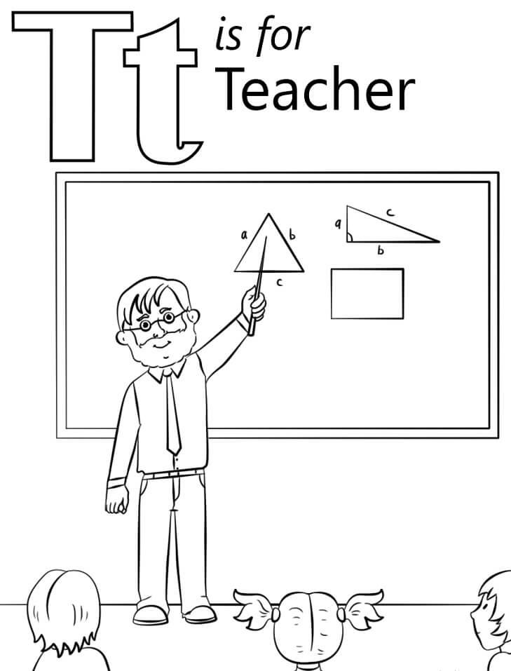Teacher Letter T