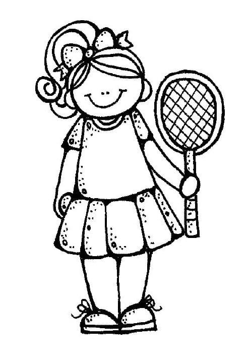 Tennis Girl Melonheadz