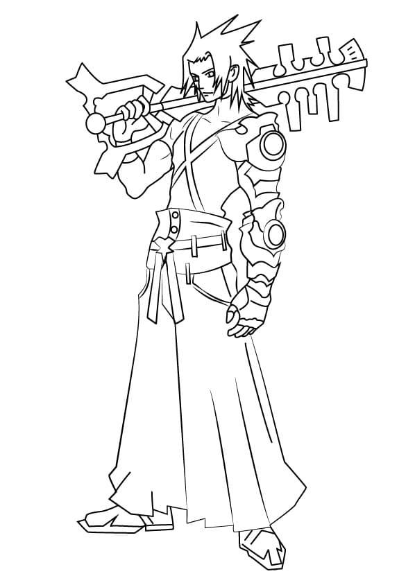 Terra from Kingdom Hearts