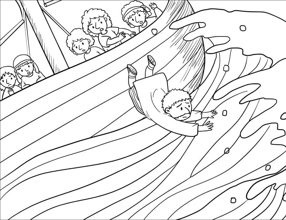 The Sailors Threw Jonah