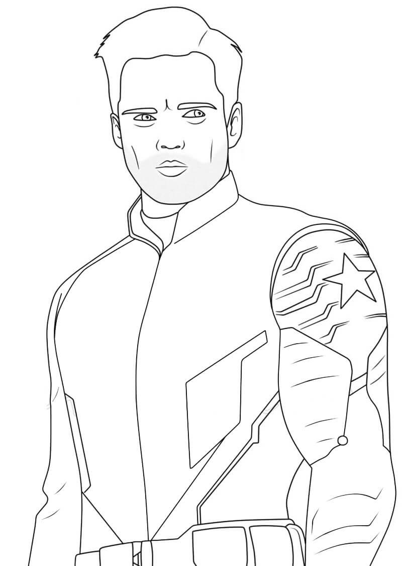 The Winter Soldier Bucky Barnes