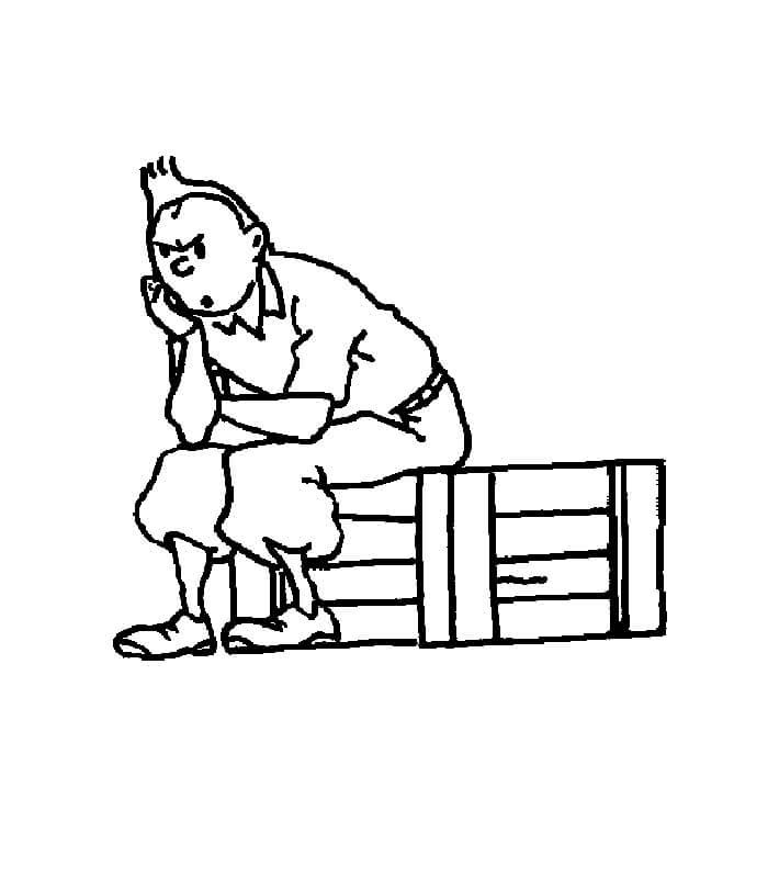 Tintin Is Thinking