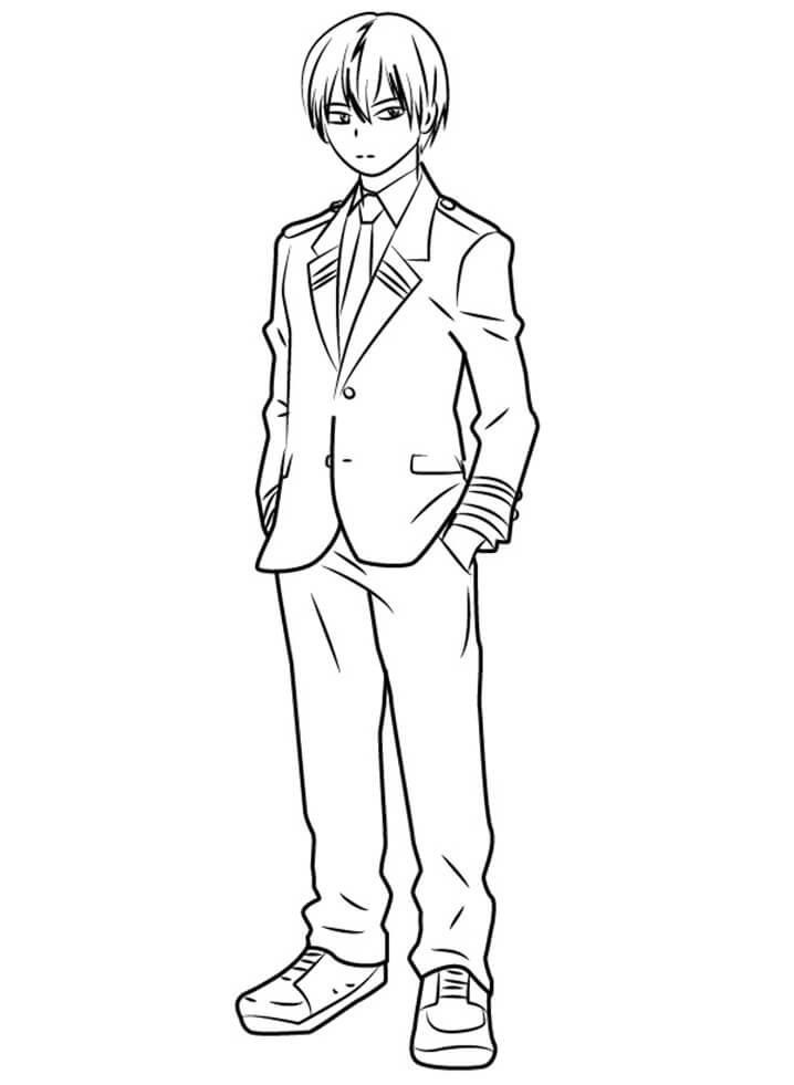 Todoroki from My Hero Academia
