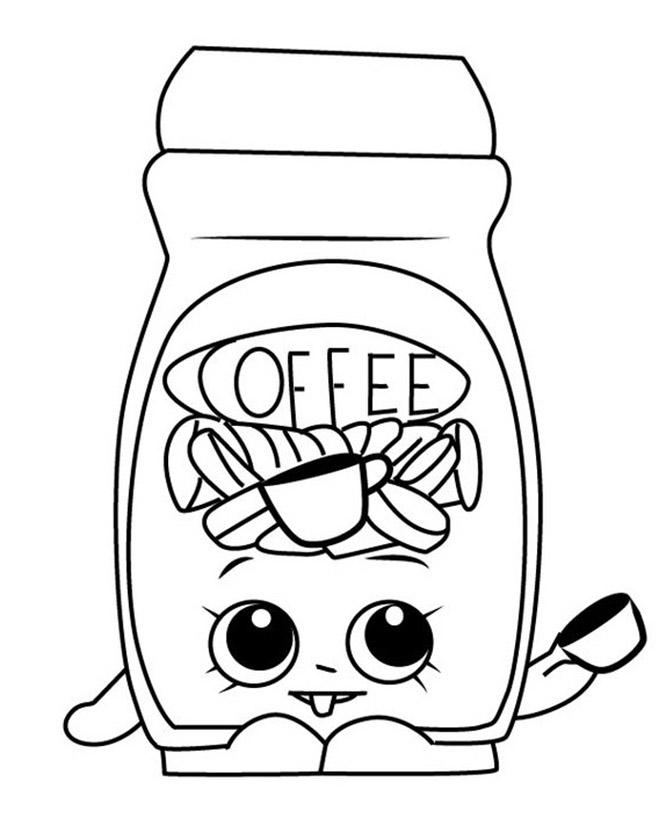 Toffy Coffee Shopkins