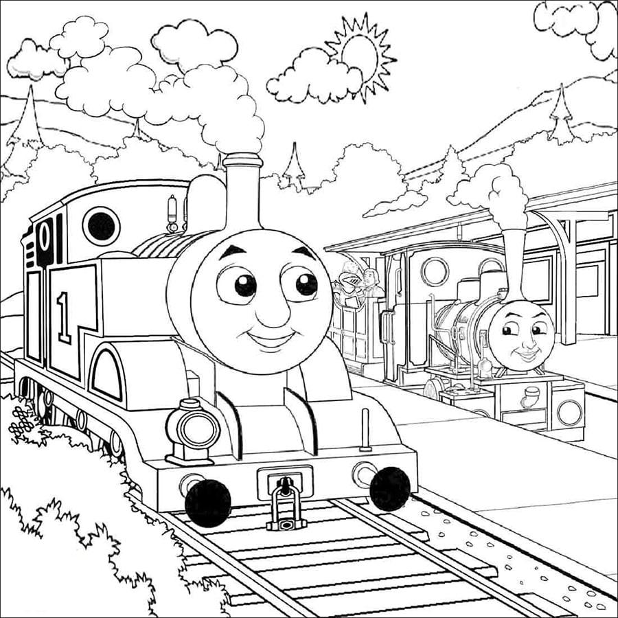 Train Twins
