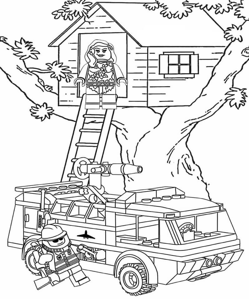 Tree House Lego City